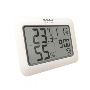 Thermo Hygrometer with Timer Nouveau Lashes