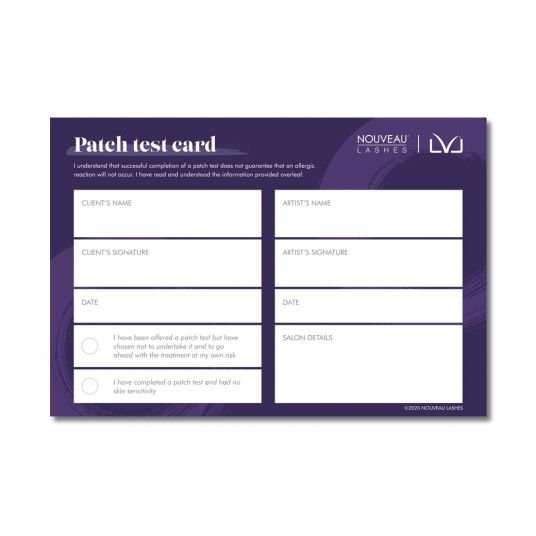 LVL Patch Test Instructions