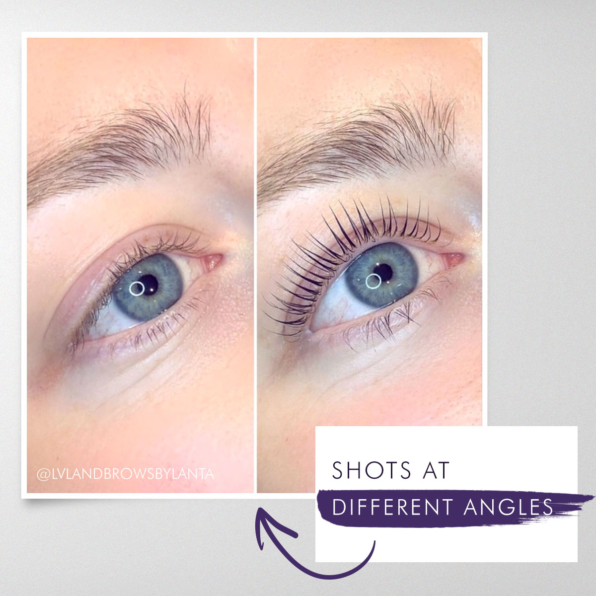 How to photograph lashes