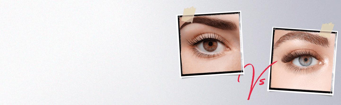 LVL Lash Lift Vs Eyelash Extensions