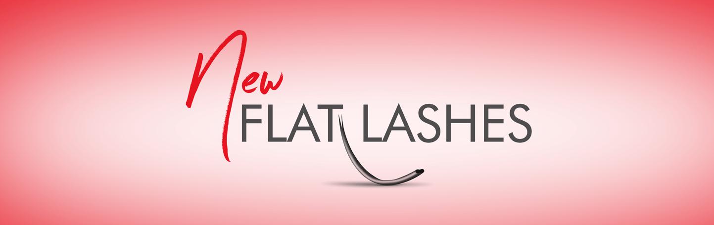 Flat Lashes – Split Tip Flat Lash Extensions