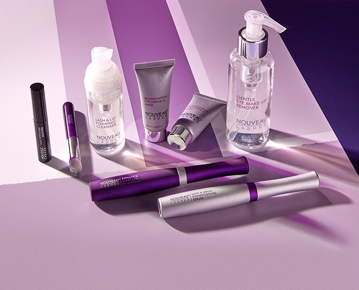 Lash treatment aftercare and retail products