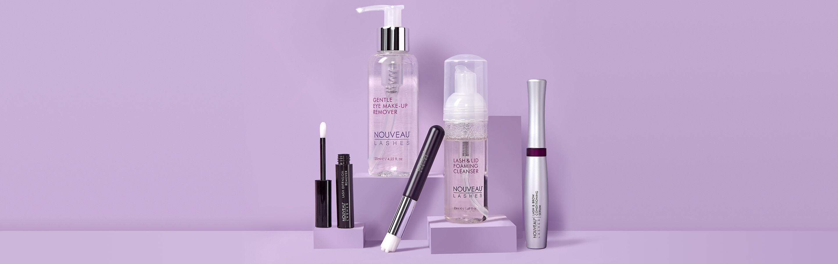 Introducing the Nouveau Lashes Lash and Lid Foaming Cleanser