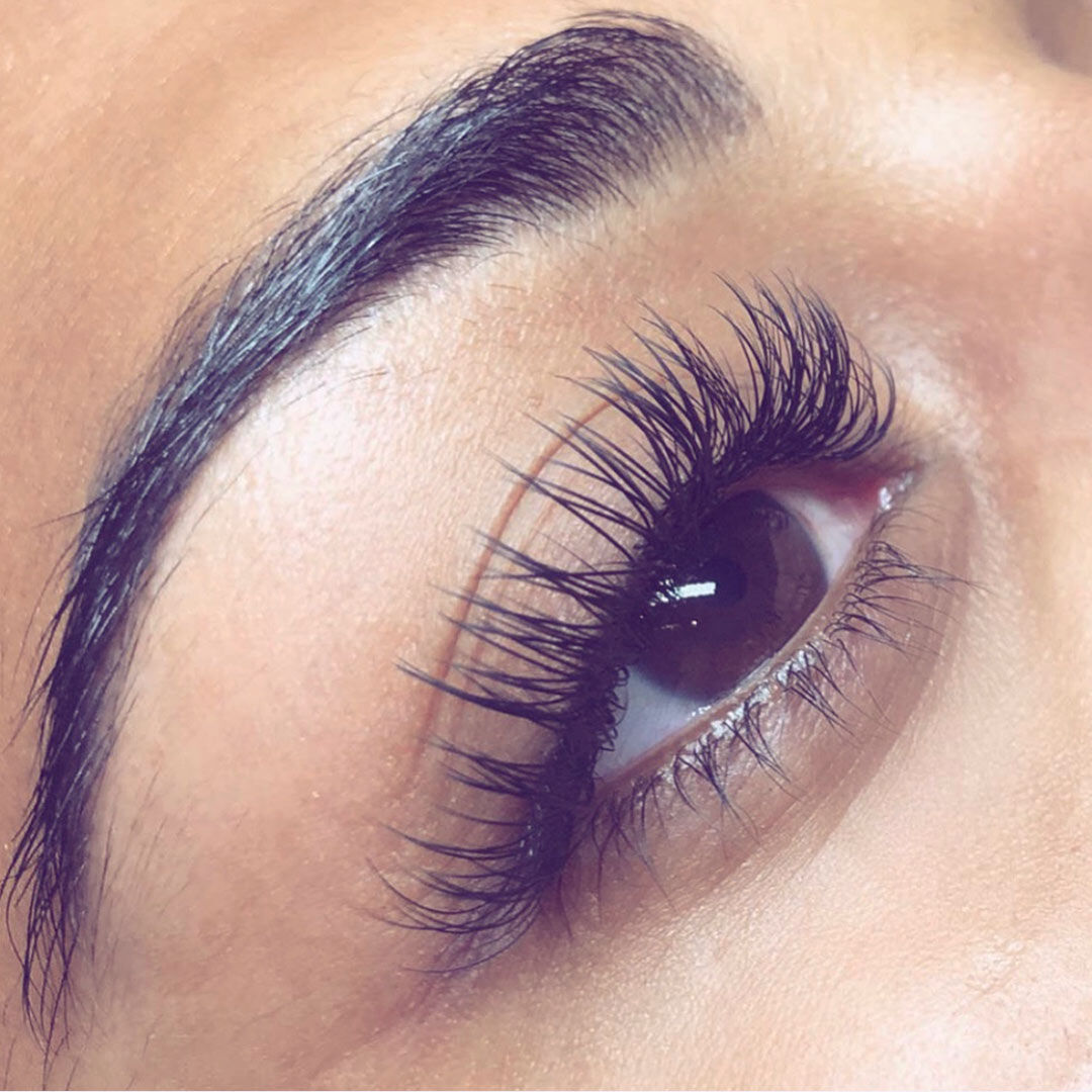 Extend lash extensions after