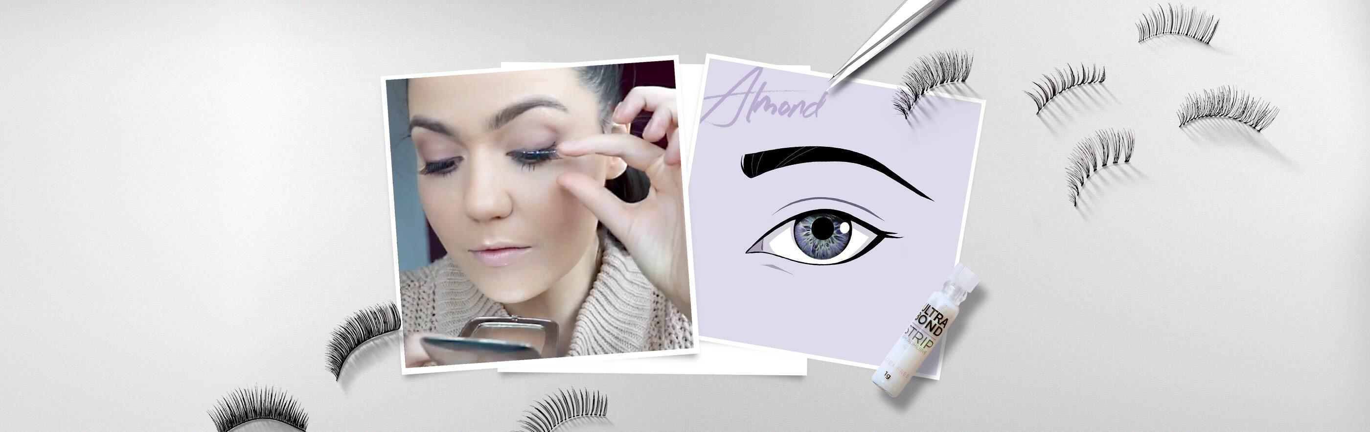Which Strip Lashes Are Best For You & How To Apply Them