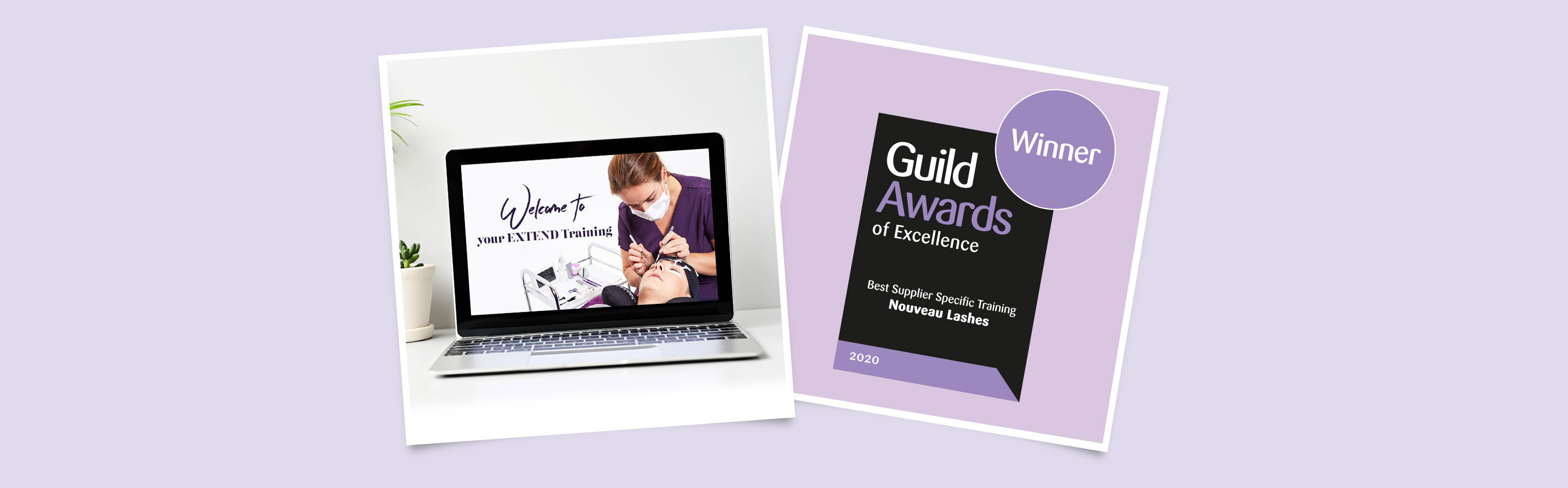 Extend individual lash extensions training course: Guild Award