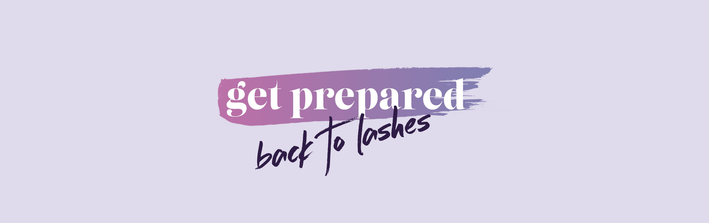 Back To Work… Back To Lashes!