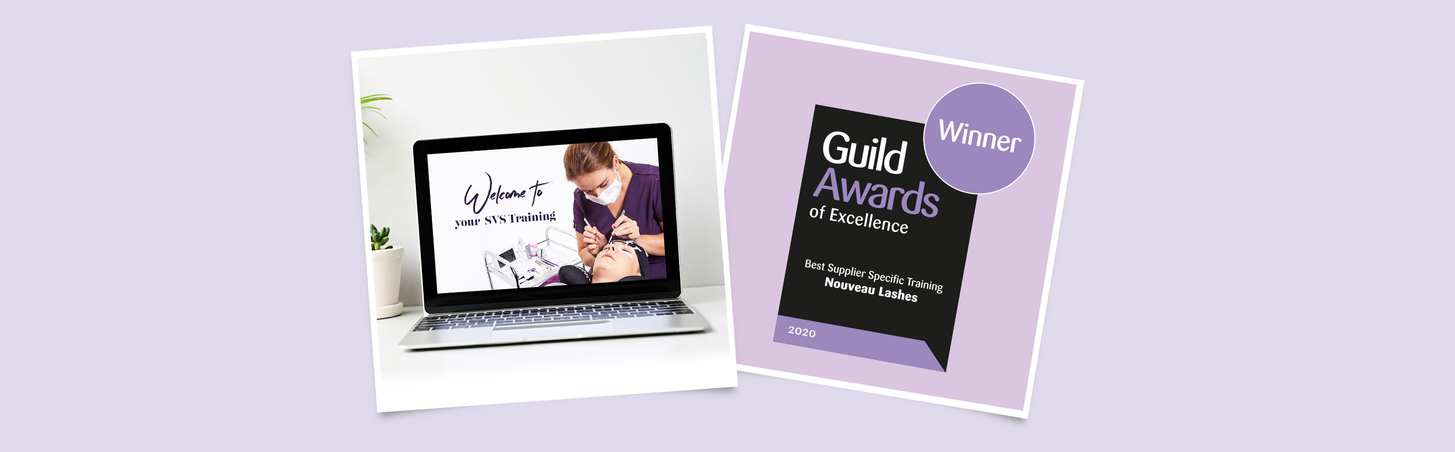 SVS new volume lash extensions training course: Guild Award