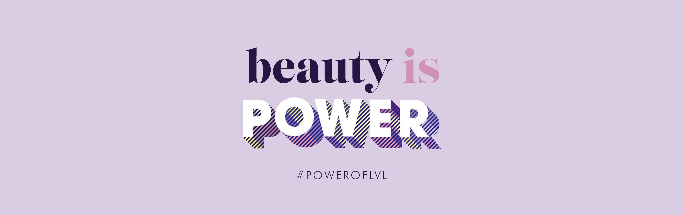 LVL Beauty is Power Power of LVL by Nouveau Lashes