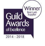Guild Award - Best Lashes 2014 - 2018 Logo