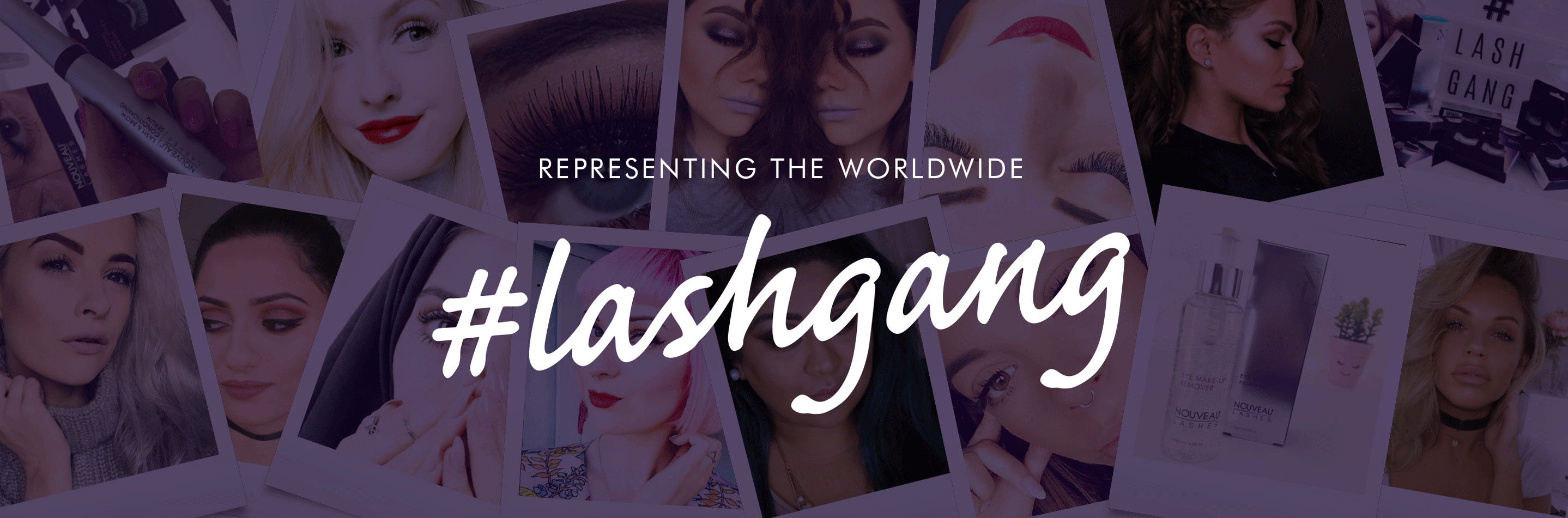 Representing the worldwide #lashgang
